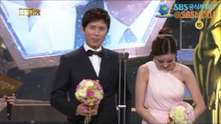 getlinkyoutube.com-[베스트 커플상 - 박유천, 한지민 - 김민종, 윤진이] 2012 SBS 연기대상