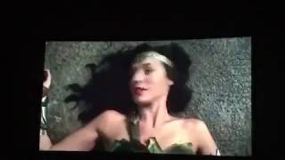 Justice league - flash touches Wonder womans boobs , funny .