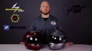 getlinkyoutube.com-Shark Raw vs Bell Rogue & More - Hybrid Helmet Comparison at Jafrum.com