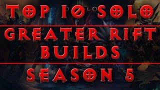 getlinkyoutube.com-Diablo 3 - Top 10 Greater Rift Solo Builds (Patch 2.4 / Season 5)