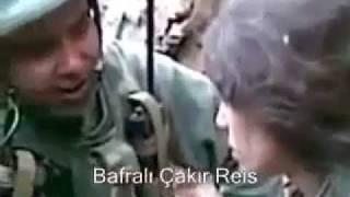 getlinkyoutube.com-Yakalanan PKK'lı Köpek Bakın Nasıl Korkudan 2,5 Atıyor