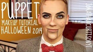 getlinkyoutube.com-Puppet Makeup Tutorial Halloween :: JonathanCurtisOnYT