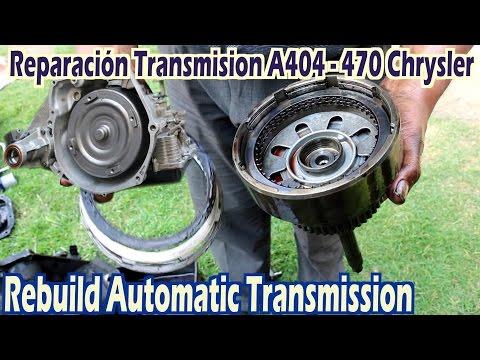 Transmision automatica A404, 413 A415 A470 A670