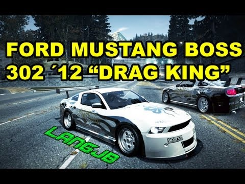 NFS World Ford Mustang Boss 302 2012