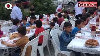 GTO Dilovası iftarına çocuklardan yoğun ilgi