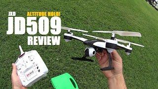 getlinkyoutube.com-JXD JD509V Altitude Hold HD Quadcopter Review - [Flight Test, Pros & Cons]