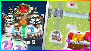 "getlinkyoutube.com-NEW ""CHRISTMAS ARENA"" & ""XMAS CHEST CONCEPT!"" DECEMBER UPDATE! Clash Royale NEW Update Ideas!"