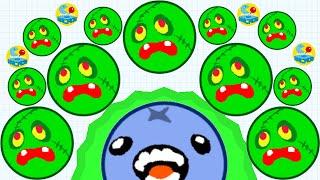 Agario Mobile Trolling Part 3 Premium Zombie Skin Agar.io  Funny Moments