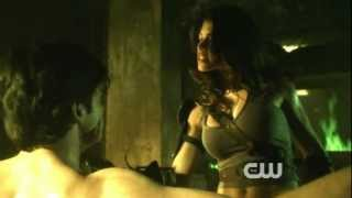 getlinkyoutube.com-Smallville - S10E08 - Granny Goodness and The Furies torture Clark