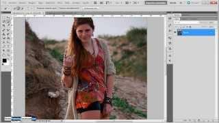 getlinkyoutube.com-Como Cambiar el Fondo de Tu Fotografía en Photoshop