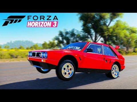 Forza Horizon 3 - СТАВИМ ТАЧКУ НА ДЫБЫ. WHELLE ТАЧКА.