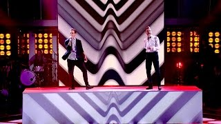 getlinkyoutube.com-Ricky Wilson and Stevie McCrorie perform Get Back - The Voice UK 2015: The Live Final - BBC One