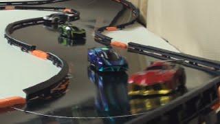 getlinkyoutube.com-Anki Overdrive Race Time: the heart shaped track