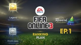 getlinkyoutube.com-FIFA ONLINE 3 ตัวกากแต่แผนเทพ EP.1 | 4-1-1-4 ส่งตรงจากเกาหลี ทีมแค่ 22m ชนะ 20 ตารวด !