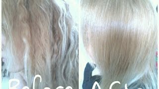 getlinkyoutube.com-Toning Yellow Out With Wella Color Charm T18