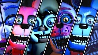 getlinkyoutube.com-Five Nights at Freddy's Sister Location Custom Night All Jumpscares