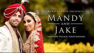 getlinkyoutube.com-Mandy Bawja & Jake Gibbens - Cinematic Short Reel (Sangeet & Sikh Ceremony)