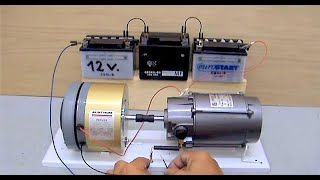 getlinkyoutube.com-Electric Motor Generator