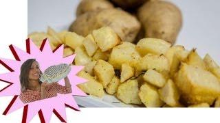 getlinkyoutube.com-Patate al Forno Super Croccanti con Poco Olio - Le Ricette di Alice