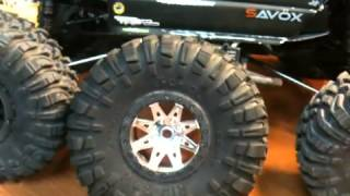 getlinkyoutube.com-Axial R35 compound 2.2 Wraith Tires / Wheel Review and Comparison