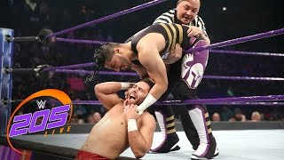 getlinkyoutube.com-Mustafa Ali vs. Noam Dar: WWE 205 Live, Feb. 21, 2017
