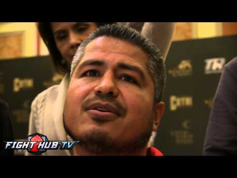 Robert Garcia on Chavez Jr. training with him