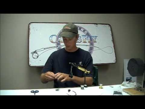 Ice Dub Prince Nymph fly tying video instructions