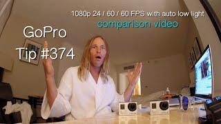 getlinkyoutube.com-GoPro Hero3+ 1080p FPS 24 / 60 / 60 Auto Low Light Test Comparison in Low Light - GoPro Tip #374