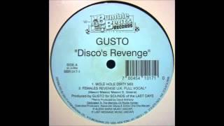 getlinkyoutube.com-(1995) Gusto - Disco's Revenge [David Anthony Females Revenge UK Full Vocal RMX]