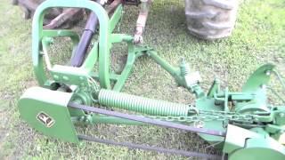 getlinkyoutube.com-John Deere 350 sickle bar mower