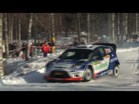 Rally Sweden 2012 All WRC Cars SS 13