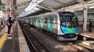 【S-train1番列車】西武40000系 40101F 「S-train」西武秩父行(1番列車)東横線自由が丘駅にて