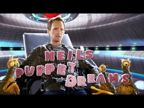 NEIL PATRICK HARRIS Gets Abducted - ALIEN ABDUCTION - Neil's Puppet Dreams