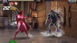 getlinkyoutube.com-1.2 Hits Per Second: Scarlet Witch vs. Science Symbioid | Marvel Contest of Champions