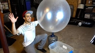 15,000 Orbeez in a GIANT Balloon!!