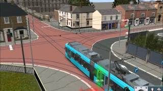 getlinkyoutube.com-EdenBridge tram route on Trainz