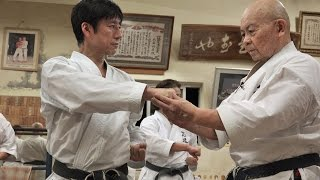 沖縄空手への遥かなる旅 Shotokan karate meets Okinawan Karate.