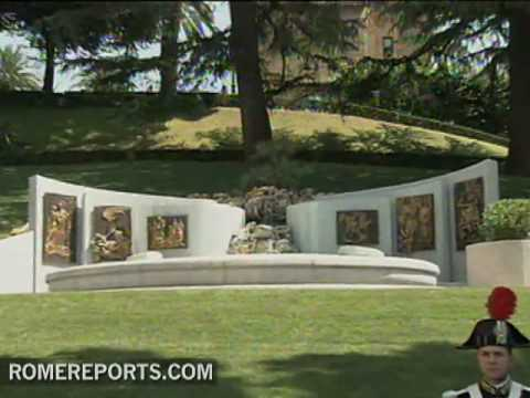 Vatican's 100th fountain dedicated to Saint Joseph