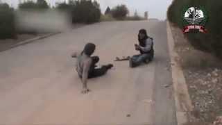 getlinkyoutube.com-Syria-  FSA Terrorists RUN from Syrian Arab Army [HQ] 02-04-2013
