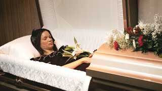 getlinkyoutube.com-PREPARING A DEAD BODY IN THE CASKET