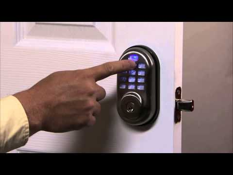 Yale Real Living Push Button Deadbolt Programming - Delete User PIN Code 03