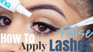 getlinkyoutube.com-HOW TO Easily Apply False Lashes Perfectly Every Time