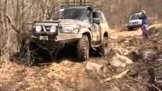 getlinkyoutube.com-OFF ROAD TISOVEC 2011 (Patrol 2.8TD)