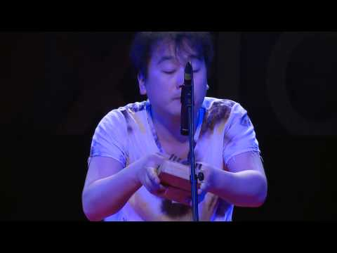 Kalimba (thumb Piano) player HIROYUKI at TEDxTokyo (English)