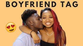 BOYFRIEND TAG | dymondheartsbeauty