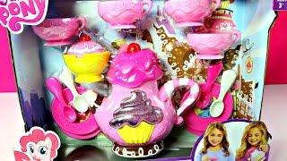 getlinkyoutube.com-Te Magico Juguetes de My Little Pony |MLP Tea Set-Mundo de Juguetes