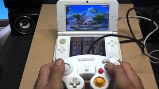 getlinkyoutube.com-3DSLLでGAMECUBEコントローラーを繋げてみた