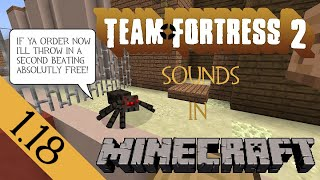 getlinkyoutube.com-Minecraft TF2 sound resource pack for 1.11 [Updated 15-01-2017]