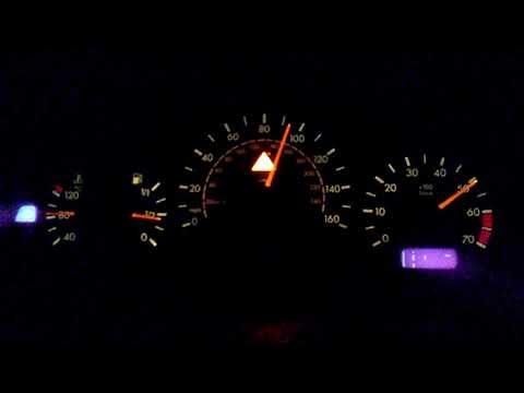 E430 mercedes 50-110 mph