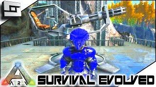 getlinkyoutube.com-ARK: Survival Evolved - MINIGUN TURRET & CATAPULT! S2E70 ( Gameplay )